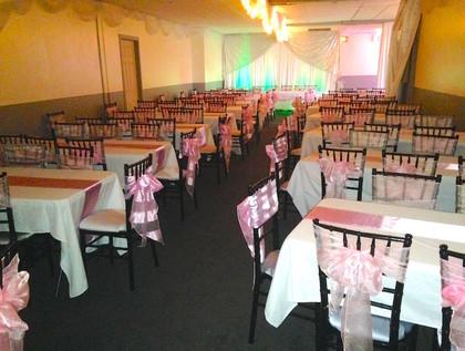 dulce 15 reception hall